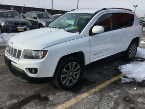 2015 Jeep Compass Limited, Automatic, Leather, Heated Seats, 4x4