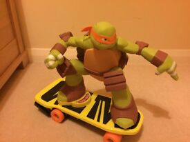 TMNT Remote Control Skateboarding Michelangelo