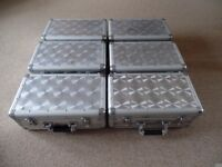 Aluminium CD Storage cases