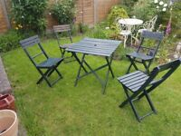 Wooden Garden/Patio Furniture Set (Free Delivery)