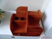 DESK/TABLE ORGANISER, SOLID WOOD, VERY GOOD CONDITION