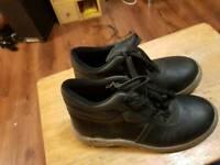 size 8 steel toe cap boots