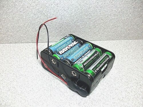 12~15 Volts DC  Battery Holder 10xAA Snap Fit by Pro Power NEW B11