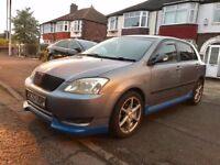 2004 TOYOTA COROLLA 1.4 - 5DR,TWO OWNERS,2KEYS,SERVICE BILLS,17 INCH ALLOYS,MOT JUNE 2018, HPI CLEAR