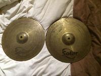 "Cymbal 14"" Hi-Hats Sabian. In good condition."