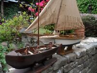 Old Wooden Boats (Two Off)