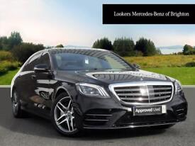 Mercedes-Benz S Class S 350 D L AMG LINE EXECUTIVE PREMIUM (black) 2017-09-26