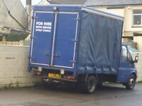 Ford transit & driver for hire