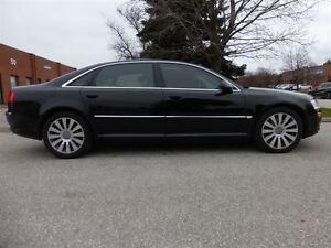 2004 Audi A8 L -- QUATTRO -- BLACK ON BEIGE -- LOW 141, 000  KM