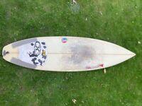 Surfboard 6'8 Spowy
