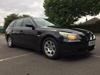 2005 BMW 525d SE Estate Automatic black, immaculate condition inside & outside, hpi clear