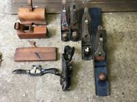 Stanley/Record Wood Planes (Estate Sale)