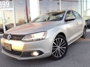 2013 Volkswagen Jetta 2.5L Highline CUIR + TOIT OUVRANT + MAG 17