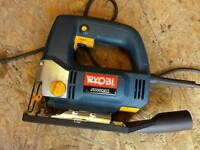 Ryobi JS500QEO 500W jigsaw used only once for demonsteation