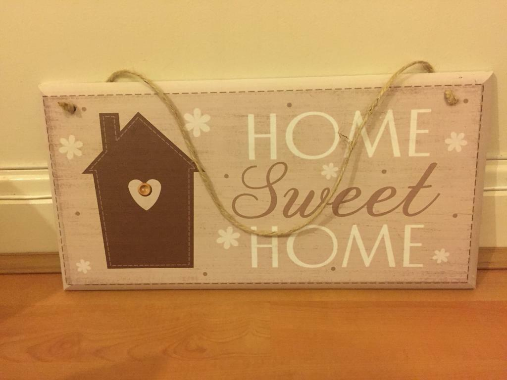 Home Sweet Home Board - £5
