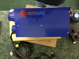 Propex heater heatsource HS 2000 gas heater as new.