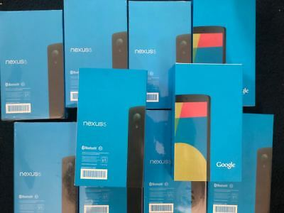 REFURB NEW LG GOOGLE NEXUS 5 D821 16GB BLACK 8MP UNLOCKED GSM ONLY !!