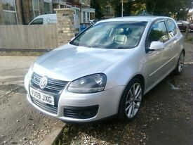2009 Volkswagen golf GT TDI sport 140 2 door with full leather interior