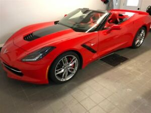 2015 Chevrolet Corvette Stingray Z51 3LT CONDITION SHOWROOM