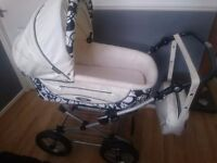 Roan pram set 5 piece rrp 750 110 ono can deliver