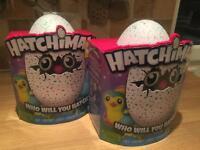 Hatchimals in Teal X 2