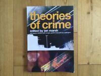 Theories of crime edited by Ian Marsh