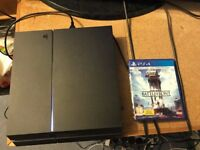 PS4 500GB with Star Wars Battlefront