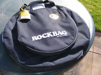 Rockbag Cymbal Bag 20'' Deluxe - RB22541B - Deluxe Line - with Cymbals