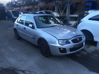 BREAKING - MGZR - 2004 FRONT BUMPER - SILVER - ALL PARTS AVAILABLE