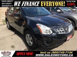 2011 Nissan Rogue S | BLUETOOTH | VOICE COMMAND/RECOGNITION