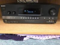 Sony Home Cinema Surround Sound Amplifier and KEF Speakers for sale