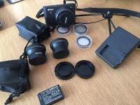 Nikon 1 Camera with extras