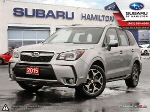2015 Subaru Forester 2.0XT Limited Package ONE OWNER | NO ACC...