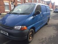 Toyota hiace long wheel base Long MOT& tax only 133000 miles good condiation