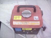 Clarke 720 watt generator