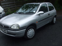 VAUXHAL CORSA B CLUB, 1999, 2 OWNERS FROM NEW, GENUINE 47000 MILES EXCEPTIONAL CONDITION