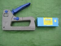 Rapesco Z13-P Staple Gun - uses 13/6-14 mm Staples and 180/15 mm Nails