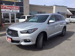 2016 Infiniti QX60 PREMIUM|LEATHER|NAVIGATION|SUNROOF