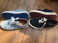 Boys next deck shoes size 5