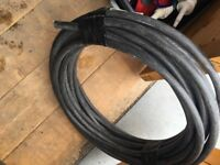 6mm core (armoured 3 core) external wire 52 feet in length