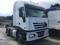 IVECO STRALIS TRACTOR UNIT 2009 MOT DEC 2018 AUTOMATIC VERY CLEAN HIGH MILES DRIVES VERY WELL