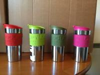 Bodum Travel mugs - only pink left