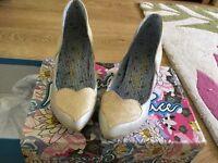 Irregular Choice shoes size 37/4