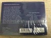 Royal mint Britannia £50 silver coin