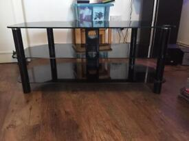 Tv stand fits up to 50inch (good condition)