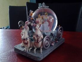 Disney Cinderella 50th Anniversary Snowglobe - Ideal Christmas Gift