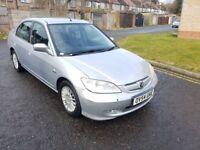 2004 Honda Civic 1.3 IMA Executive 4dr Manual @07445775115 30£ RoadTax+HPI Clear+Warranty