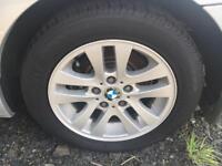 """4 x 16"""" BMW Alloys & Tyres"""