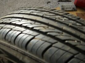 155-80R-13 car tyre for sale 6mm+ tread