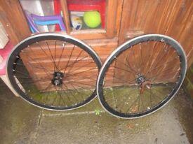 700C Fixie Wheels Fixed Road Bike Bicycle Wheel Pair